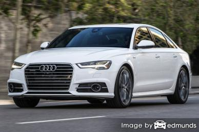 Insurance quote for Audi A6 in Dallas