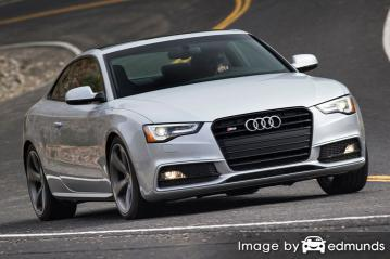 Insurance quote for Audi S5 in Dallas