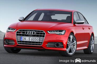 Insurance rates Audi S6 in Dallas