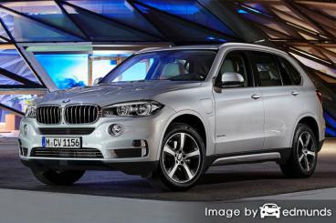 Insurance quote for BMW X5 eDrive in Dallas
