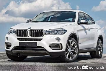 Insurance rates BMW X6 in Dallas