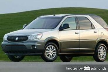 Insurance rates Buick Rendezvous in Dallas