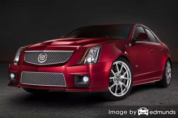 Insurance quote for Cadillac CTS-V in Dallas