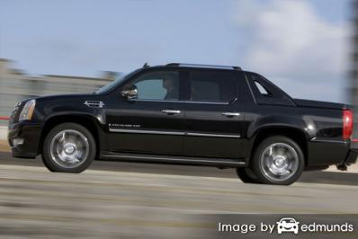 Insurance quote for Cadillac Escalade EXT in Dallas