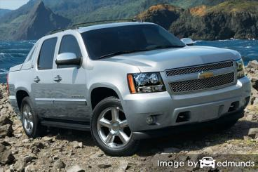 Insurance quote for Chevy Avalanche in Dallas