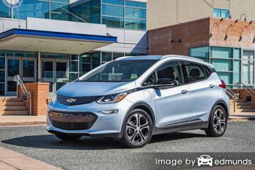 Insurance rates Chevy Bolt in Dallas