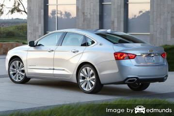 Insurance rates Chevy Impala in Dallas