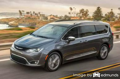 Insurance quote for Chrysler Pacifica in Dallas