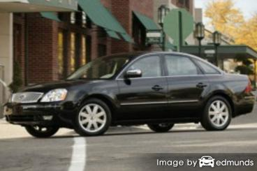 Insurance quote for Ford Five Hundred in Dallas