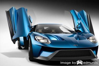 Insurance rates Ford GT in Dallas