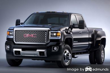 Insurance rates GMC Sierra 3500HD in Dallas