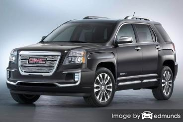 Discount GMC Terrain insurance