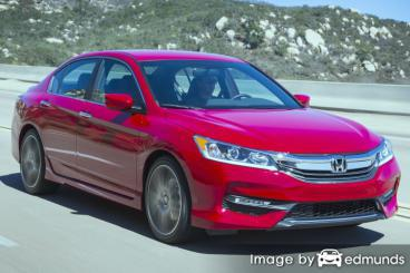 Insurance rates Honda Accord in Dallas
