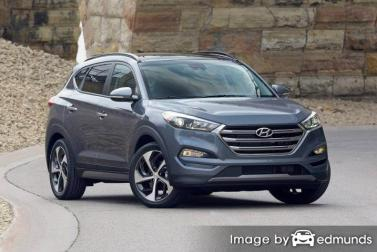 Insurance quote for Hyundai Tucson in Dallas