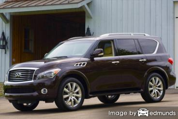 Insurance rates Infiniti QX56 in Dallas