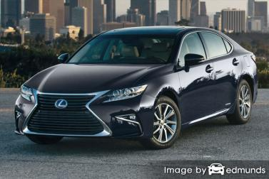 Insurance quote for Lexus ES 300h in Dallas