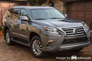 Insurance quote for Lexus GX 460 in Dallas