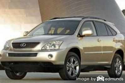 Insurance for Lexus RX 400h