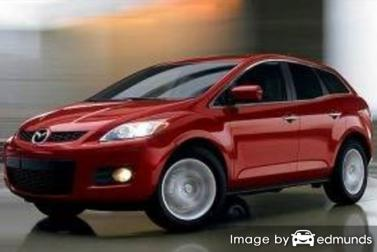 Insurance rates Mazda CX-7 in Dallas