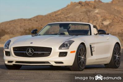Insurance quote for Mercedes-Benz SLS AMG in Dallas