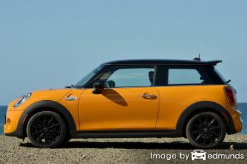 Insurance rates Mini Cooper in Dallas