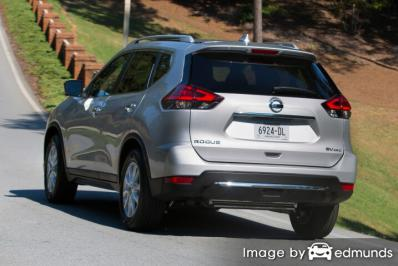 Insurance rates Nissan Rogue in Dallas