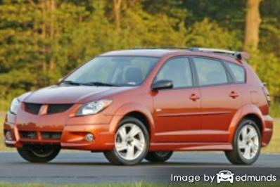 Insurance quote for Pontiac Vibe in Dallas