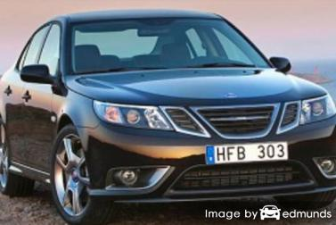 Insurance quote for Saab 9-3 in Dallas