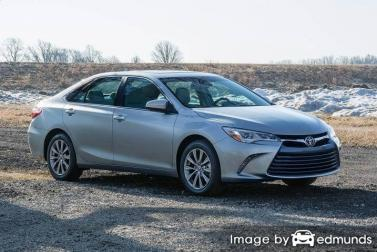 Insurance quote for Toyota Camry in Dallas