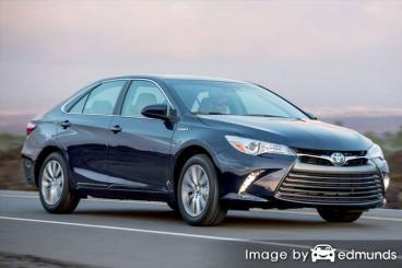 Insurance rates Toyota Camry Hybrid in Dallas