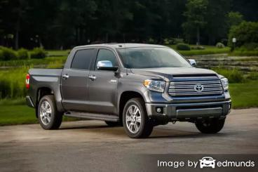 Discount Toyota Tundra insurance