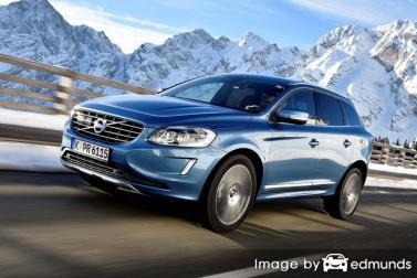 Insurance quote for Volvo XC60 in Dallas